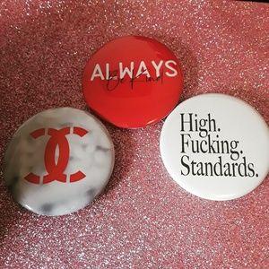 Handmade Pinback Buttons